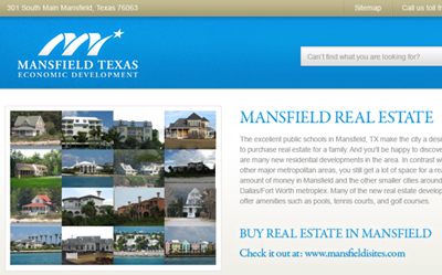 city county web design
